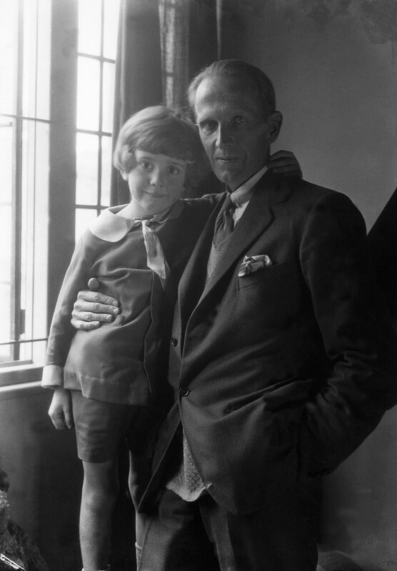 A.A. Milne; Christopher Robin Milne, by Howard Coster, 1926 - NPG x19579 - © National Portrait Gallery, London