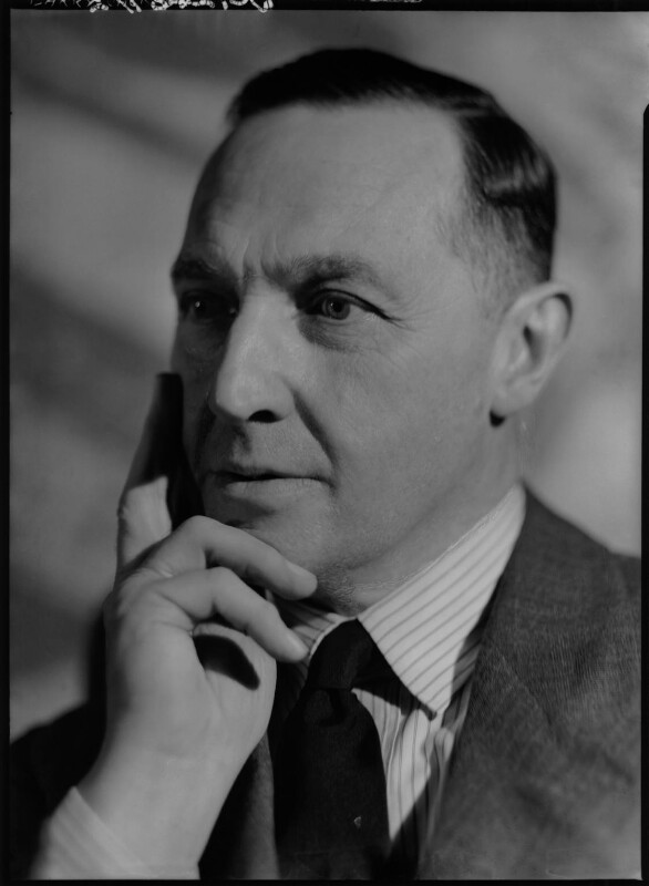 Sir Barry Vincent Jackson, by Howard Coster, 1935 - NPG x23030 - © National Portrait Gallery, London