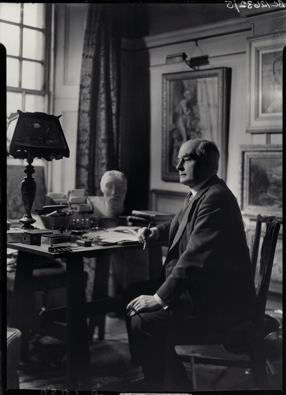 Sir Edward Howard Marsh, by Howard Coster, 1939 - NPG x23651 - © National Portrait Gallery, London