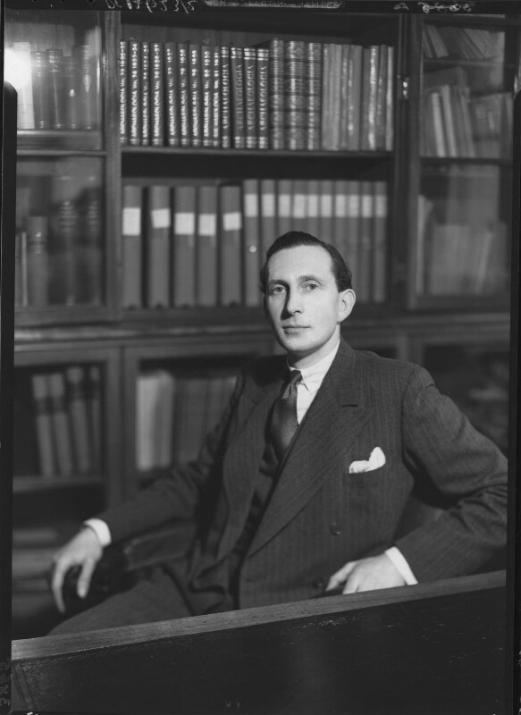 Sir James Gow Mann, by Howard Coster, 1937 - NPG x23695 - © National Portrait Gallery, London