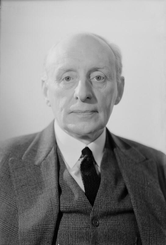 Charles McMoran Wilson, 1st Baron Moran, by Howard Coster, 1944 - NPG x23819 - © National Portrait Gallery, London