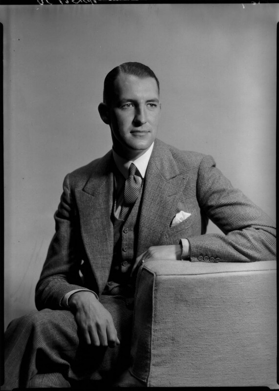Ronald John Henry Kaulbach, by Howard Coster, 1934 - NPG x23905 - © National Portrait Gallery, London