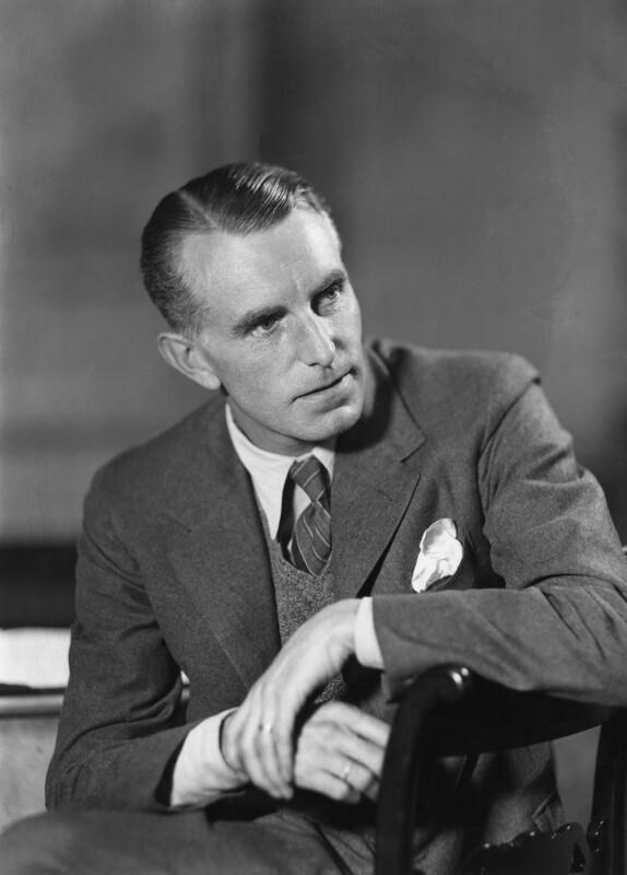 Joe Randolph Ackerley, by Howard Coster, 1939 - NPG x2404 - © National Portrait Gallery, London
