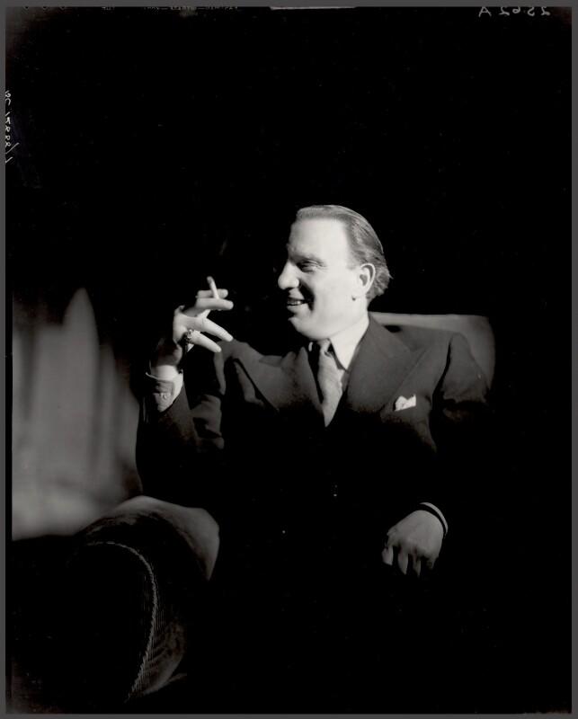 Richard Tauber (Denemy), by Howard Coster, 1935 - NPG x24333 - © National Portrait Gallery, London