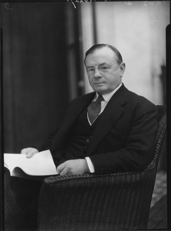 Leopold Stennett Amery, by Howard Coster, 1930 - NPG x2444 - © National Portrait Gallery, London