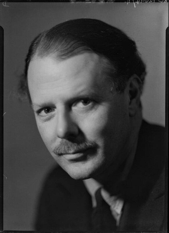 Harold Nicolson, by Howard Coster, 1935 - NPG x24459 - © National Portrait Gallery, London