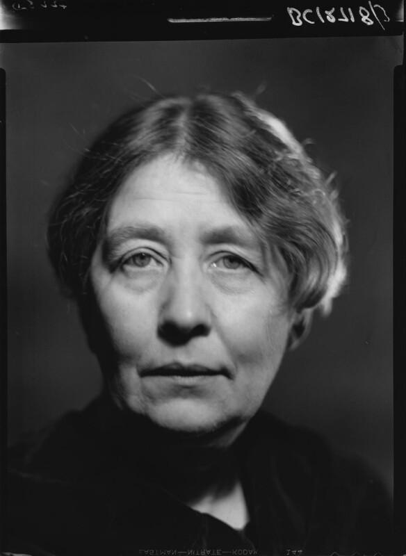 Sylvia Pankhurst, by Howard Coster, 1938 - NPG x24529 - © National Portrait Gallery, London