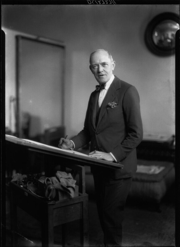 Frederick Pegram, by Howard Coster, 1926 - NPG x24599 - © National Portrait Gallery, London
