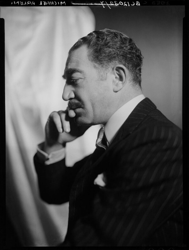 Michael Arlen, by Howard Coster, 1935 - NPG x2469 - © National Portrait Gallery, London