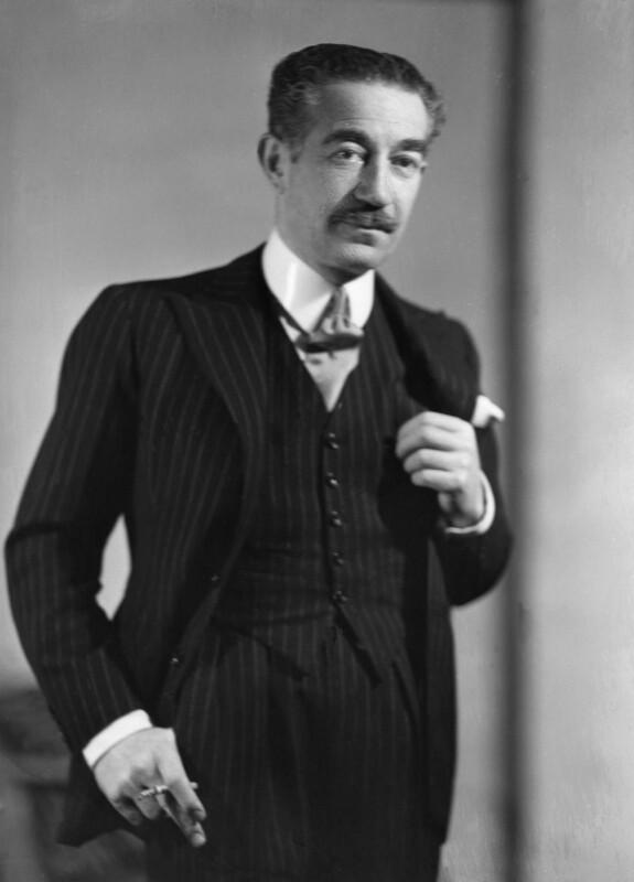 Michael Arlen, by Howard Coster, 1935 - NPG x2470 - © National Portrait Gallery, London
