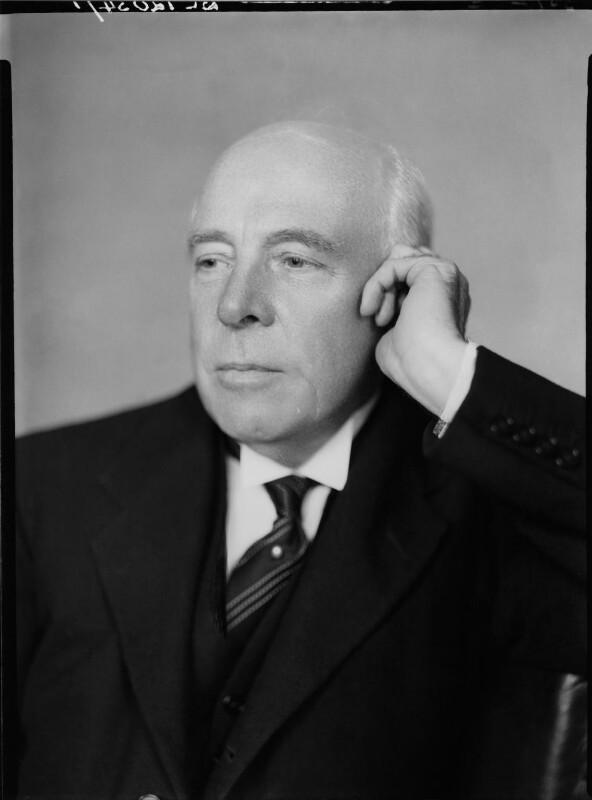 Albert Henry Stanley, Baron Ashfield, by Howard Coster, 1936 - NPG x2476 - © National Portrait Gallery, London