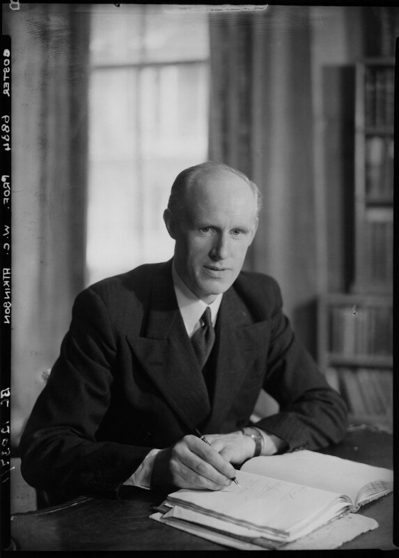 William Christopher Atkinson, by Howard Coster, 1945 - NPG x2479 - © National Portrait Gallery, London