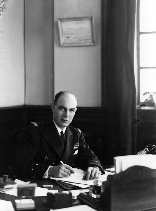 Philippe Marie Joseph Raymond Auboyneau, by Howard Coster, 1942 - NPG x2485 - © National Portrait Gallery, London