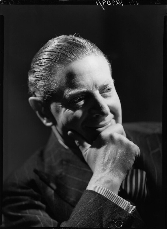Ben Travers, by Howard Coster, 1936 - NPG x24865 - © National Portrait Gallery, London
