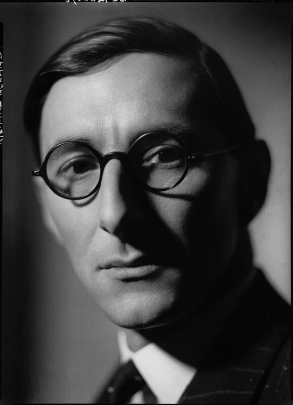 Sir Richard Thomas Dyke Acland, 15th Bt, by Howard Coster, 1939 - NPG x2512 - © National Portrait Gallery, London
