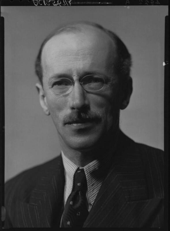 Sir Basil Henry Liddell Hart, by Howard Coster, 1939 - NPG x25396 - © National Portrait Gallery, London