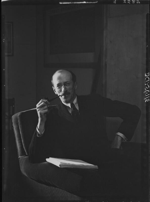 Sir Basil Henry Liddell Hart, by Howard Coster, 1939 - NPG x25402 - © National Portrait Gallery, London