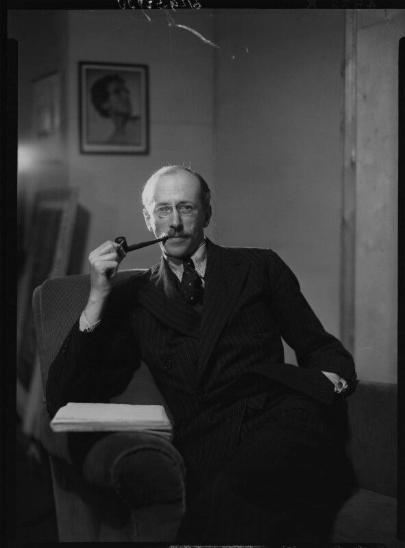 Sir Basil Henry Liddell Hart, by Howard Coster, 1939 - NPG x25403 - © National Portrait Gallery, London