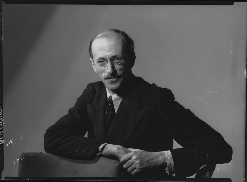 Sir Basil Henry Liddell Hart, by Howard Coster, 1939 - NPG x25404 - © National Portrait Gallery, London
