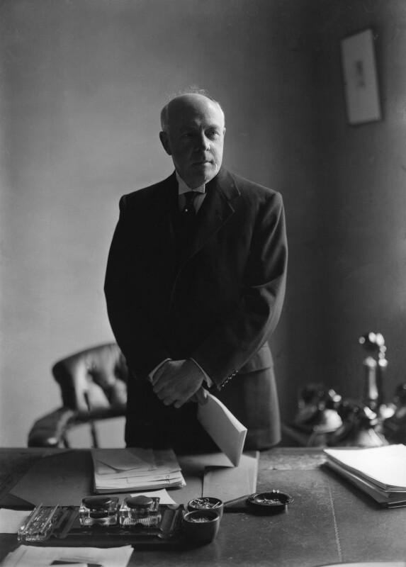 Albert Henry Stanley, Baron Ashfield, by Howard Coster, 1936 - NPG x2598 - © National Portrait Gallery, London