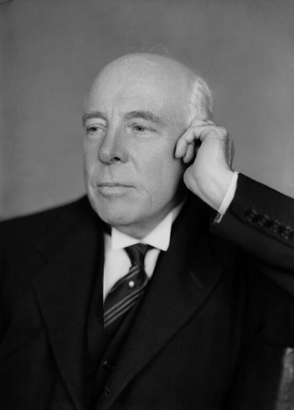 Albert Henry Stanley, Baron Ashfield, by Howard Coster, 1936 - NPG x2599 - © National Portrait Gallery, London
