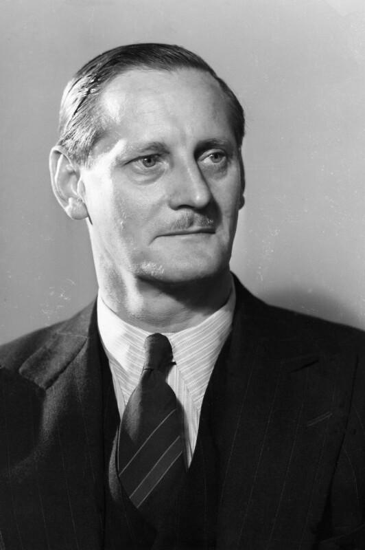 Frederick John Bellenger, by Howard Coster, 1942 - NPG x2843 - © National Portrait Gallery, London