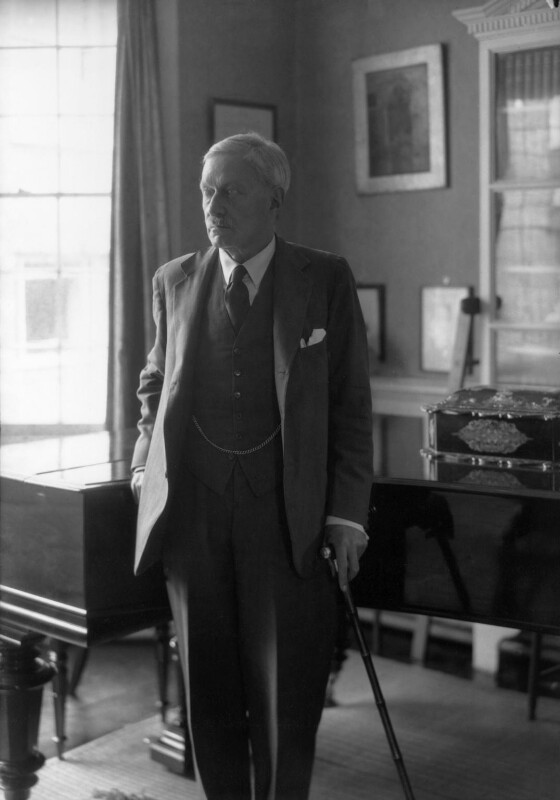 Edward Frederic Benson, by Howard Coster, 1934 - NPG x2856 - © National Portrait Gallery, London