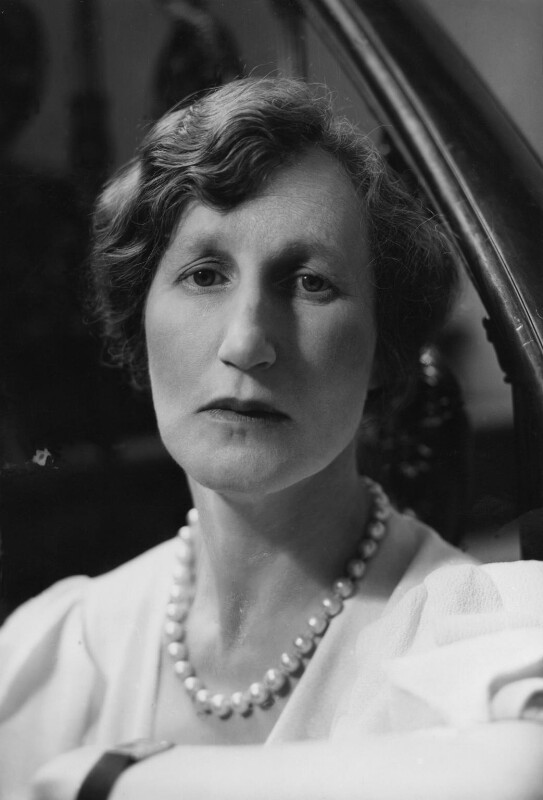 (Helen) Violet Bonham Carter (née Asquith), Baroness Asquith of Yarnbury, by Howard Coster, 1933 - NPG x3017 - © National Portrait Gallery, London