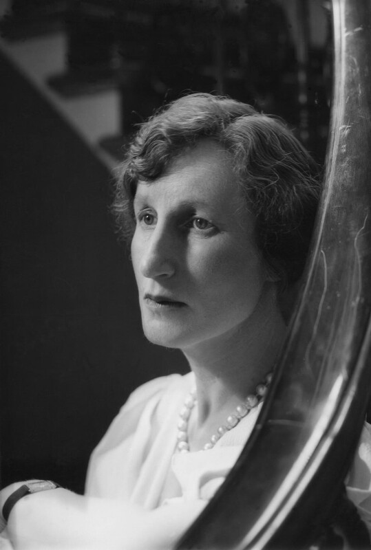 (Helen) Violet Bonham Carter (née Asquith), Baroness Asquith of Yarnbury, by Howard Coster, 1937 - NPG x3021 - © National Portrait Gallery, London