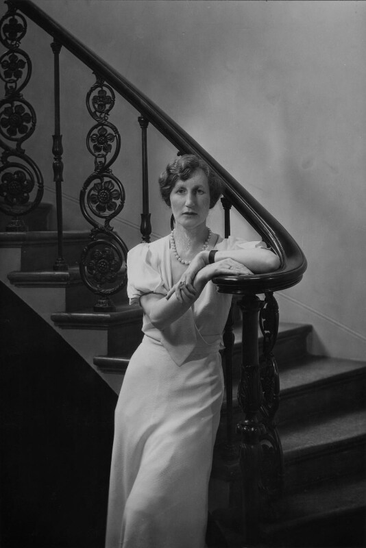 (Helen) Violet Bonham Carter (née Asquith), Baroness Asquith of Yarnbury, by Howard Coster, 1933 - NPG x3024 - © National Portrait Gallery, London