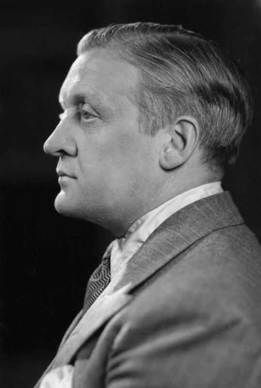 Alan John Bott, by Howard Coster, 1940 - NPG x3035 - © National Portrait Gallery, London