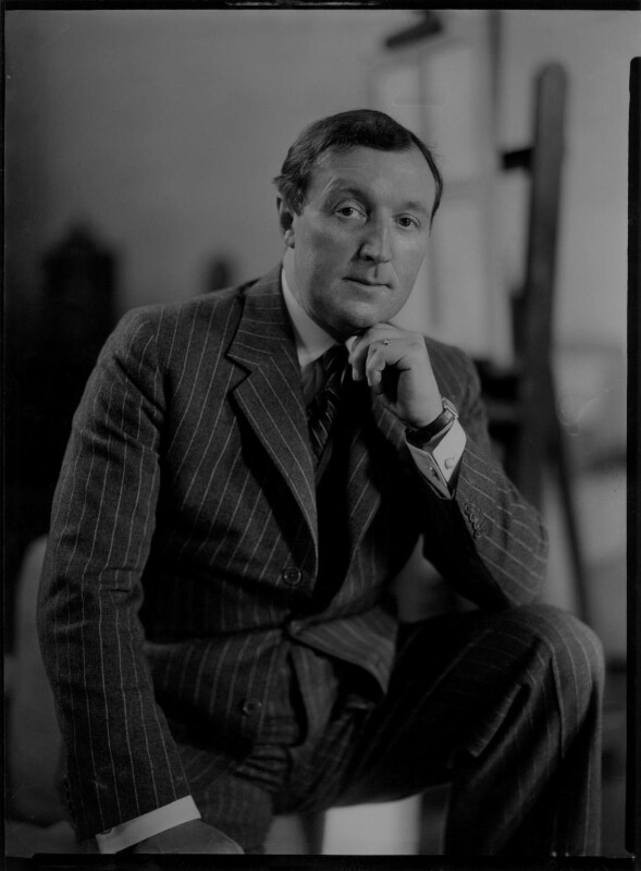Gerald Leslie Brockhurst, by Howard Coster, 1937 - NPG x3152 - © National Portrait Gallery, London