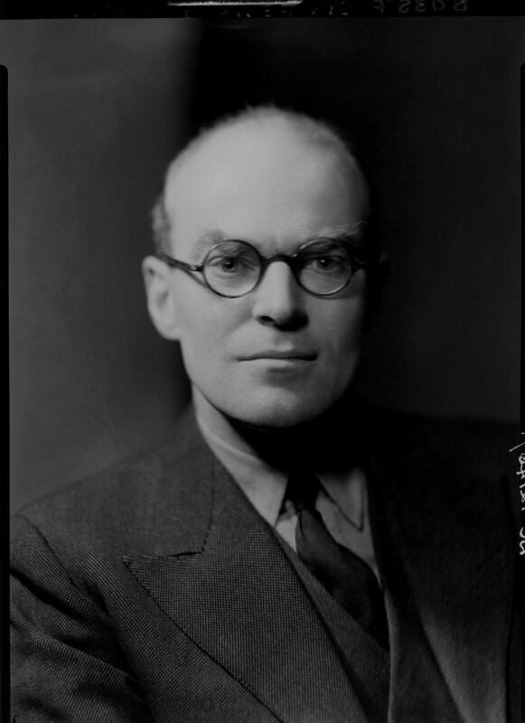 Sir Felix John Morgan Brunner, 3rd Bt, by Howard Coster, 1940 - NPG x3271 - © National Portrait Gallery, London