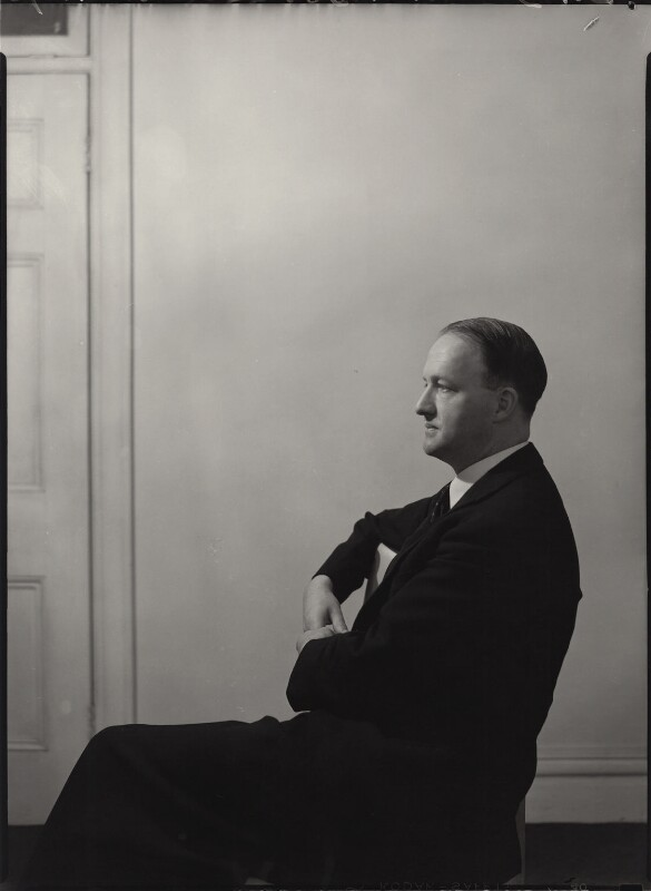 Richard Austen ('Rab') Butler, 1st Baron Butler of Saffron Walden, by Howard Coster, 1942 - NPG x3356 - © National Portrait Gallery, London