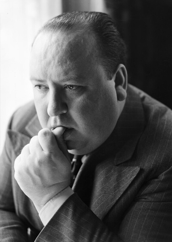 Alfred Hitchcock, by Howard Coster, 1936 - NPG x3567 - © National Portrait Gallery, London