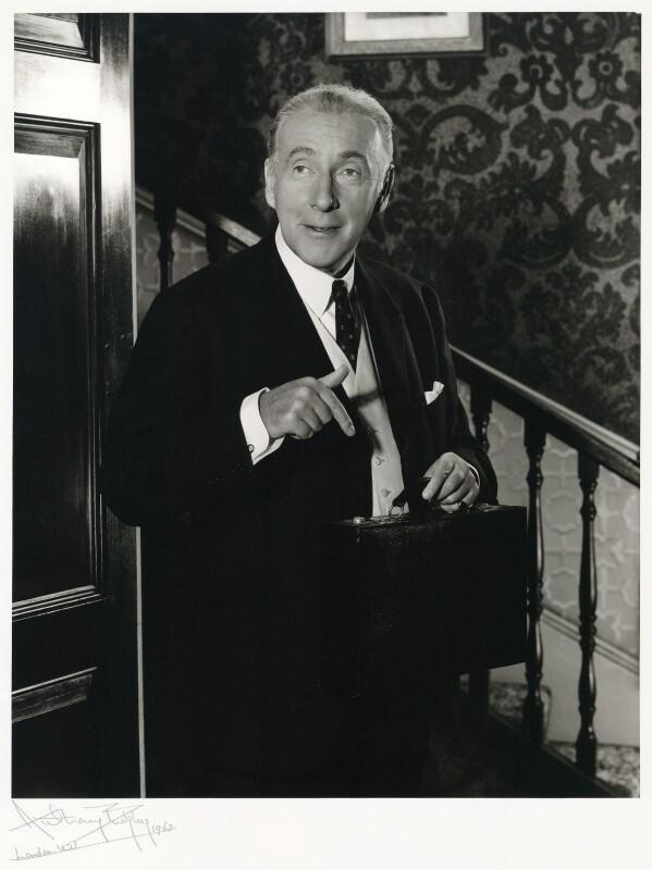 NPG x76243; Wilfred Hyde-White - Portrait - National Portrait Gallery