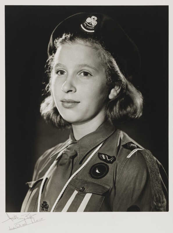 Princess Anne, by Anthony Buckley, 23 July 1963 - NPG x76303 - © estate of Kenneth Hughes / National Portrait Gallery, London