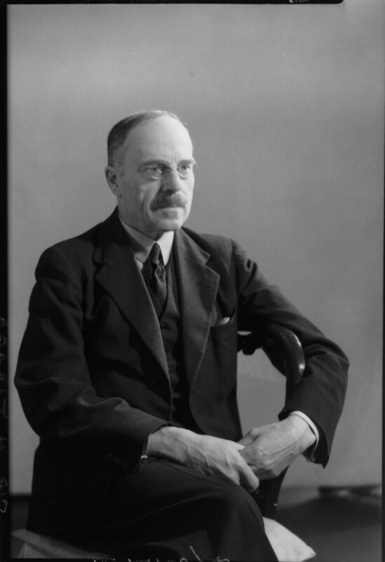 Sir Henry Thomas Tizard, by Howard Coster, 1942 - NPG x81702 - © National Portrait Gallery, London