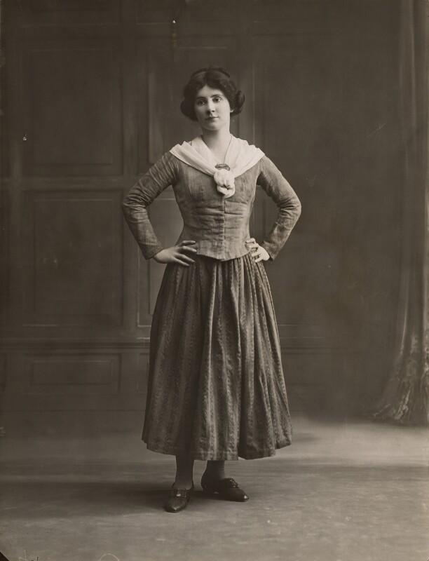 Beatrice Ainley, by Bassano Ltd, 1916 - NPG x83001 - © National Portrait Gallery, London