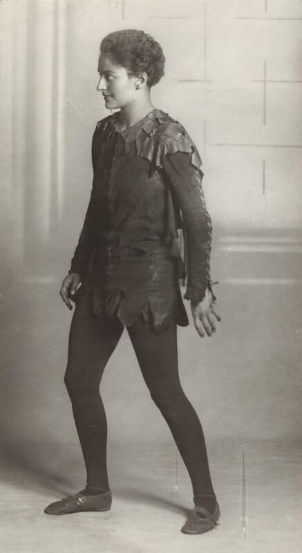 Jean Forbes-Robertson as Peter Pan in 'Peter Pan', by Bassano Ltd, 14 January 1932 - NPG x83056 - © National Portrait Gallery, London