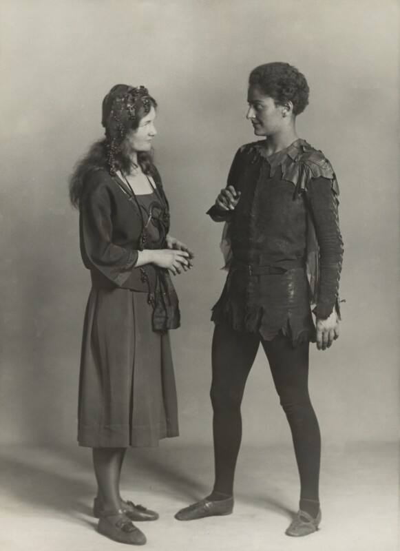 Mary Casson as Wendy; Jean Forbes-Robertson as Peter Pan in 'Peter Pan', by Bassano Ltd, 14 January 1932 - NPG x83057 - © National Portrait Gallery, London