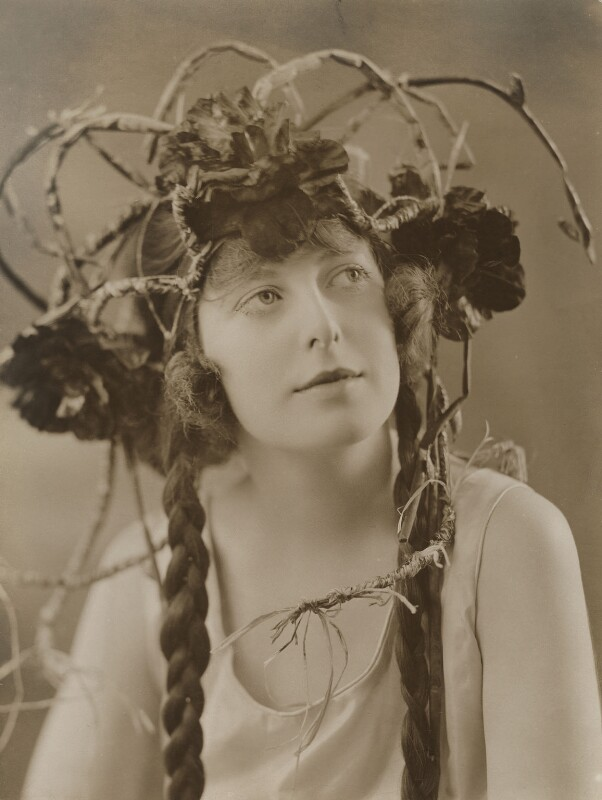 Ogna Hicks in 'Its All Wrong', by Bassano Ltd, 27 January 1921 - NPG x83075 - © National Portrait Gallery, London