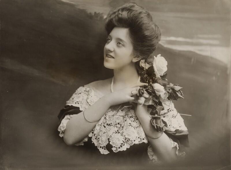 Violet Loraine, by Bassano Ltd, 1906 - NPG x83155 - © National Portrait Gallery, London