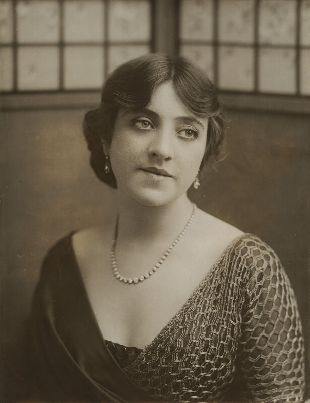 Violet Loraine, by Bassano Ltd, 3 August 1912 - NPG x83156 - © National Portrait Gallery, London
