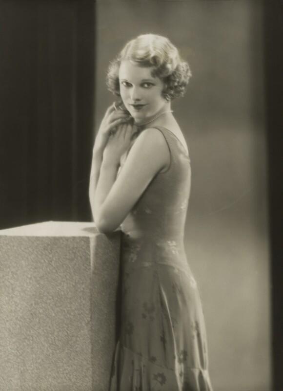 Anna Neagle, by Bassano Ltd, 24 March 1931 - NPG x83443 - © National Portrait Gallery, London