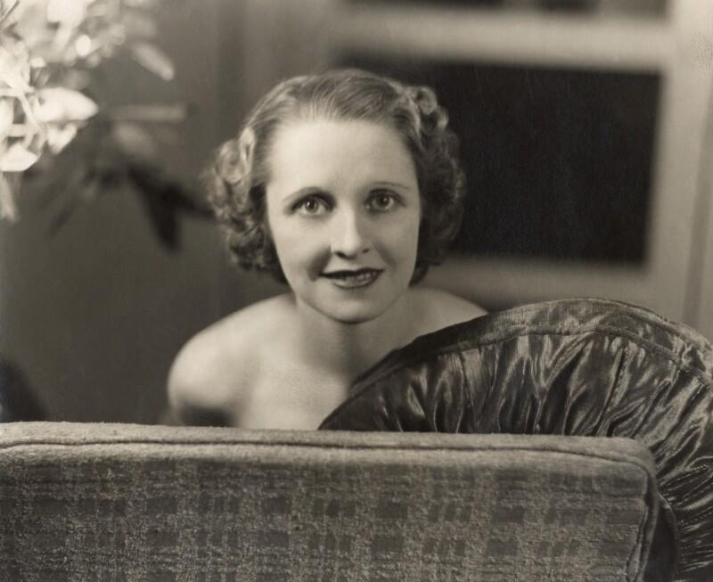Beatrix Thomson, by Bassano Ltd, January 1936 - NPG x83489 - © National Portrait Gallery, London