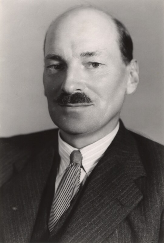 Clement Attlee, by Bassano Ltd, September 1938 - NPG x83556 - © National Portrait Gallery, London