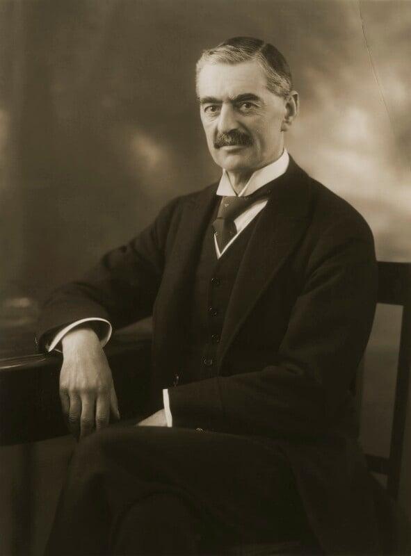 Neville Chamberlain, by Bassano Ltd, 21 February 1929 - NPG x83573 - © National Portrait Gallery, London