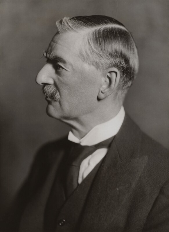 Neville Chamberlain, by Bassano Ltd, 3 February 1936 - NPG x83576 - © National Portrait Gallery, London