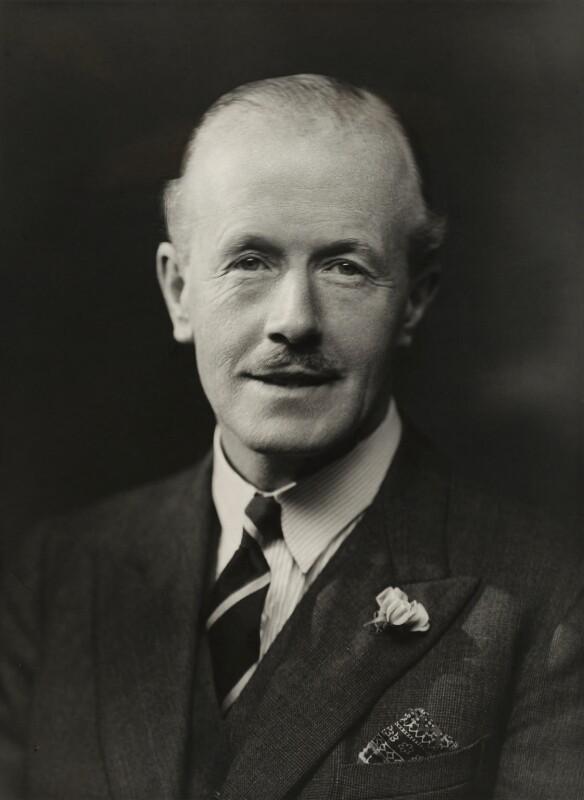 George Edward Wentworth Bowyer, 1st Baron Denham, by Bassano Ltd, 23 June 1937 - NPG x83599 - © National Portrait Gallery, London